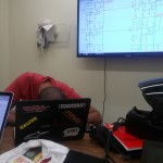 Long nights in the science & engineering library